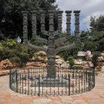 מנורת שבעת הקנים מול הכנסת