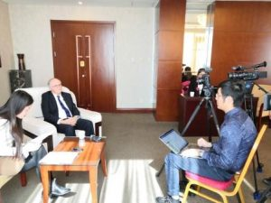 פרופ' מניפז בכנס בסין